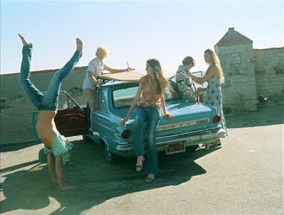 friends_summer_vintage_car_fun_aqua_grey_sasha_eisenman_trish_south_management