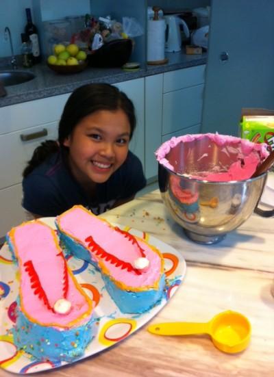 IZI's cake